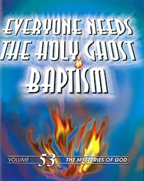 Everyone Needs the Holy Ghost Baptism - Ernest Angley ...